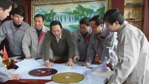 银天研发团队 引领中国金刚石锯片行业创新发展