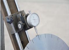 基体检测值银天金刚石锯片生产工艺