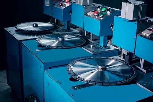 焊接强度检测之银天金刚石锯片生产工艺