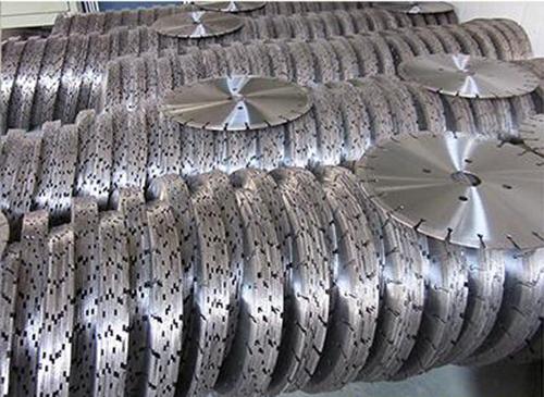 光速发货之银天金刚石锯片生产工艺