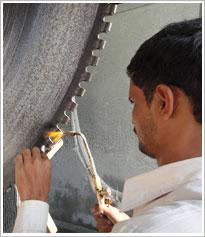 印度出口花岗岩锯片