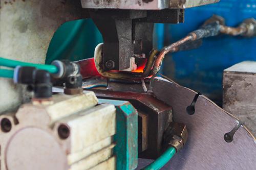dpf高频焊接之银天金刚石锯片生产工艺